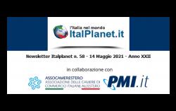 Newsletter ItalPlanet 14 maggio 2021