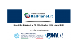 Newsletter ItalPlanet 24 settembre 2021