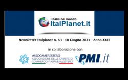 Newsletter ItalPlanet 18 giugno 2021