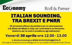 """Italian sounding, tra Brexit e Pnrr"""