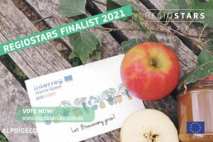 Il progetto AlpBioEco di ITKAM tra i finalisti dei RegioStars Awards 2021