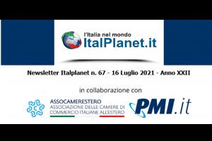 Newsletter ItalPlanet 16 luglio 2021