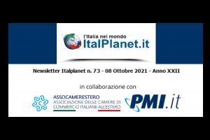 Newsletter ItalPlanet 8 ottobre 2021