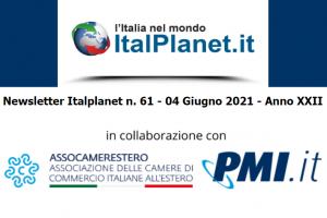 Newsletter ItalPlanet 4 giugno 2021