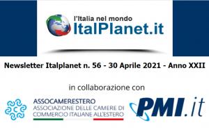 Newsletter ItalPlanet 30 aprile 2021